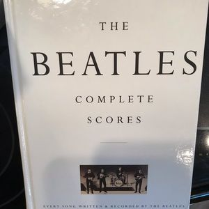 THE BEATLES-Complete Scores Song Book